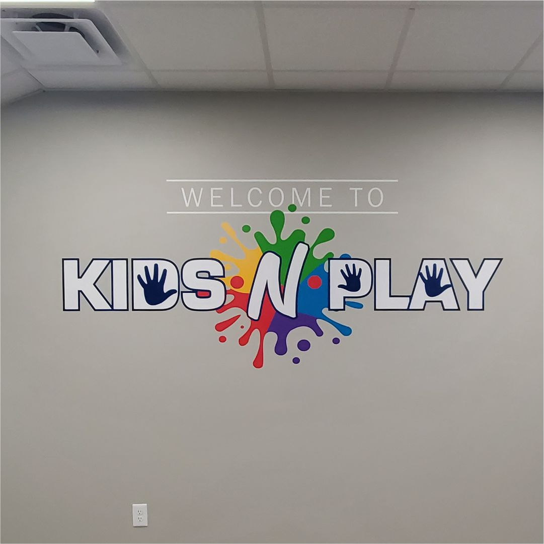 Kids N' Play signs